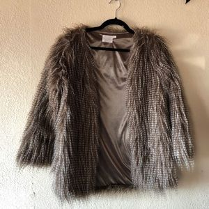 Lush | Faux Fur Jacket